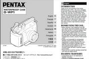 宾得O-WP1 Waterproof Case Manual相机英文说明书