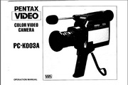 宾得PC-K003A相机英文说明书