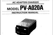 宾得PV-A020A - AC Adapter-Charger 相机英文说明书