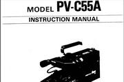 宾得PV-C55A相机英文说明书