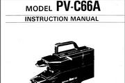 宾得PV-C66A相机英文说明书