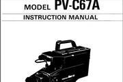 宾得PV-C67A摄相机英文说明书
