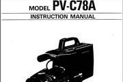 宾得PV-C78A摄相机英文说明书