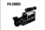 宾得PV-C880A摄相机英文说明书