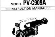 宾得PV-C909A摄相机英文说明书