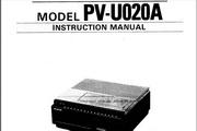 宾得PV-U020A摄相机英文说明书