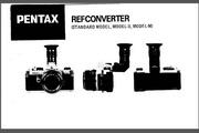 宾得Ref Converter相机英文说明书