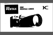 宾得SMC Lenses相机英文说明书