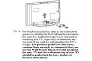 索尼液晶电视KLV-46J400A型说明书
