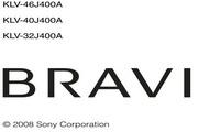 索尼液晶电视KLV-40J400A型说明书