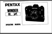 宾得Winder LX相机英文说明书
