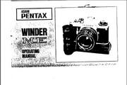 宾得Winder ME相机英文说明书