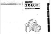 宾得ZX-60相机英文说明书