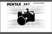 宾得ZX-7相机英文说明书