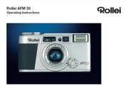 Rollei AFM 35数码相机英文说明书