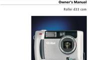 Rollei d33 com数码相机英文说明书