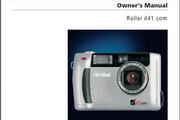 Rollei d41 com数码相机英文说明书
