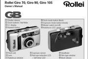 Rollei Giro 105数码相机英文说明书