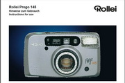Rollei Prego 145数码相机英文说明书