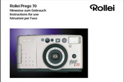 Rollei Prego 70数码相机英文说明书