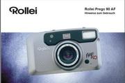 Rollei Prego 90 AF数码相机英文说明书