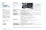 威盛 VB8002嵌入式主板 英文说明书