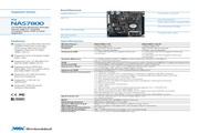 威盛 NAS7800嵌入式主板 英文说明书