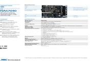 威盛 NAS7040嵌入式主板 英文说明书