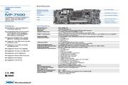 威盛 IVP-7500嵌入式主板 英文说明书