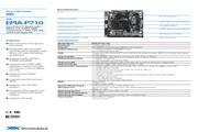 威盛 EPIA-P710嵌入式主板 英文说明书