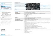 威盛 VB8003嵌入式主板 英文说明书