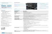 威盛 MMC7000嵌入式主板 说明书