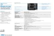 威盛 EPIA-P720嵌入式主板 说明书
