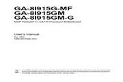 技嘉 GA-8I915GM-G型主板 英文说明书