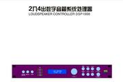 锐丰DSP1000信号处理器说明书