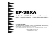磐正 EP-3BXA型主板 英文说明书