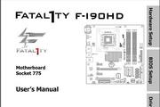 <p>升技Fatal1ty F-I90HD主板英文说明书</p>