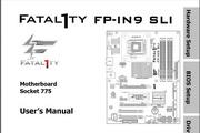 升技Fatal1ty FP-IN9 SLI主板英文说明书