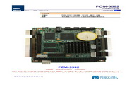 深蓝宇 PCM-3592工业主板 用户手册