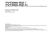 技嘉 7VT880-RZ主板 英文说明书