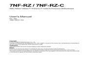 技嘉 7NF-RZ-C主板 英文说明书