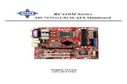 MSI微星 RC410M系列主板 英文版说明书