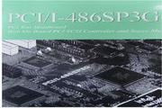 华硕 PCII-486SP3G型主板 英文说明书