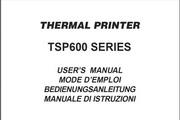天星TSP600打印机英文说明书