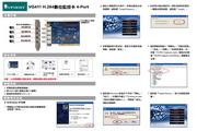 蝴蝶 VG411 H.264数字监控卡4-Port 使用手册