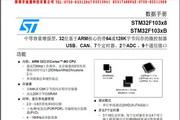 迪通STM32F103xB微控制器说明书
