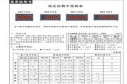 飞扬HB8145A型数字面板表说明书