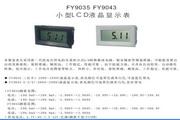 飞扬FY9035型小型LCD液晶显示表说明书