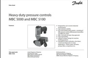 丹佛斯MBC5100压力开关英文说明书