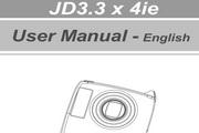 JENOPTIK JD 3.3 x4ie数码相机说明书